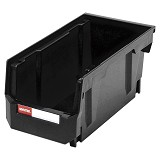 SHUTER Heavy Duty Storage Hang Bins [HB-230] - Black - Box Perkakas
